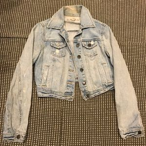 Decree Cropped Denim Jacket
